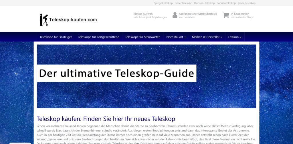 Teleskop-Portal Teleskop-Kaufen.com