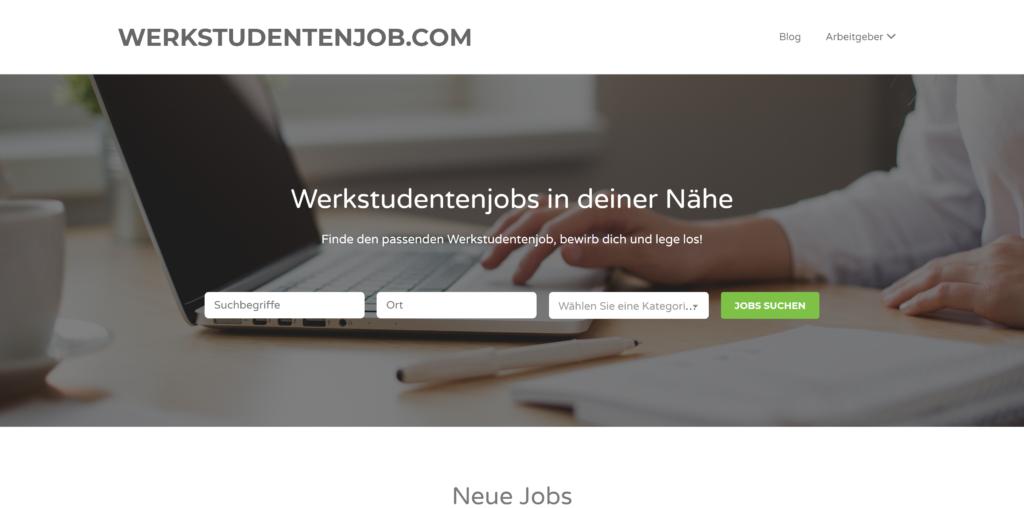 Werkstudentenjobs: Werkstudentenjob.com